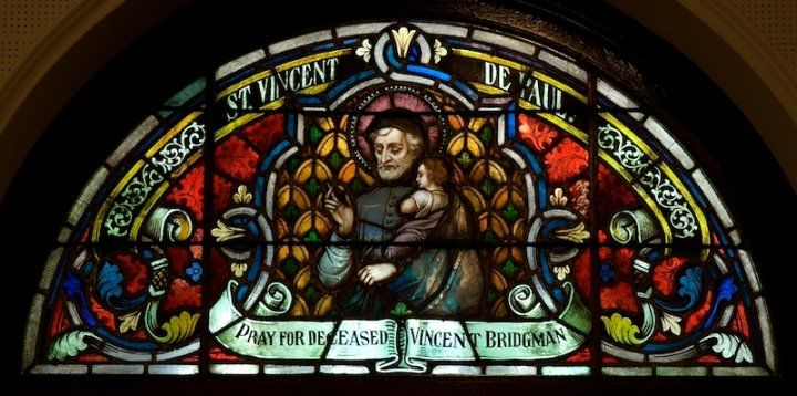 Saint Vincent De Paul Stained Glass Jeff Geerling