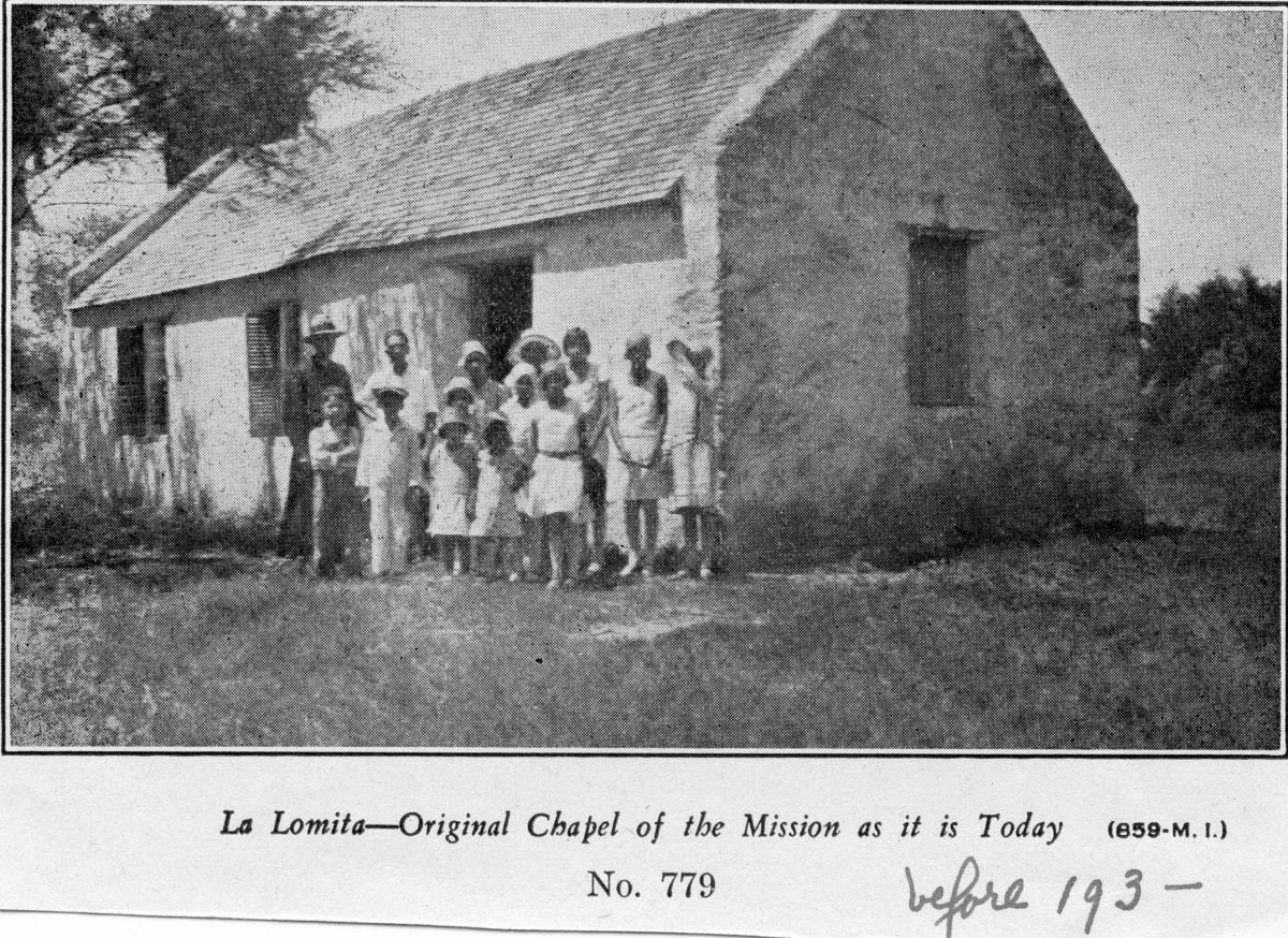 La Lomita: The Mission that Made Mission, Texas - OBLATE